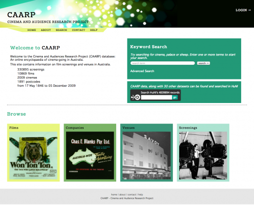 The CAARP home page